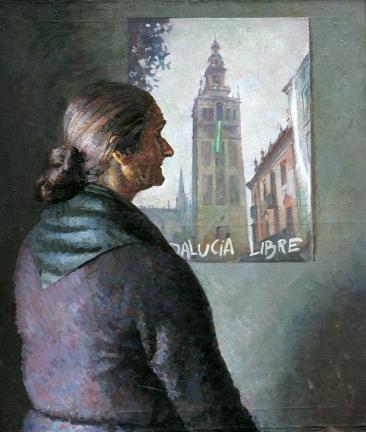 AMALIO-El-cartel.El-mundo-de-Esperanza-OÌ-leo-sobre-lienzo.92x73-cm.jpg