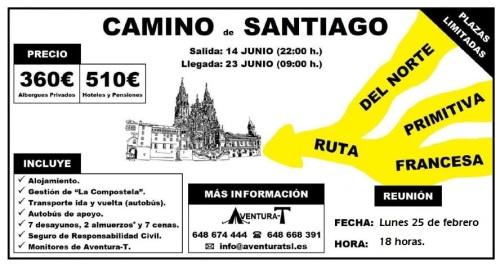 CARTEL CAMINOS DE SANTIAGO CPA.jpg